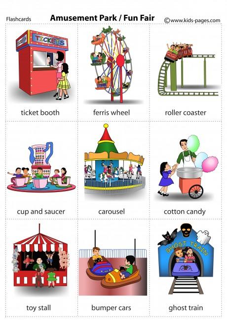Amusement Park ( Fun Fair ) flashcard
