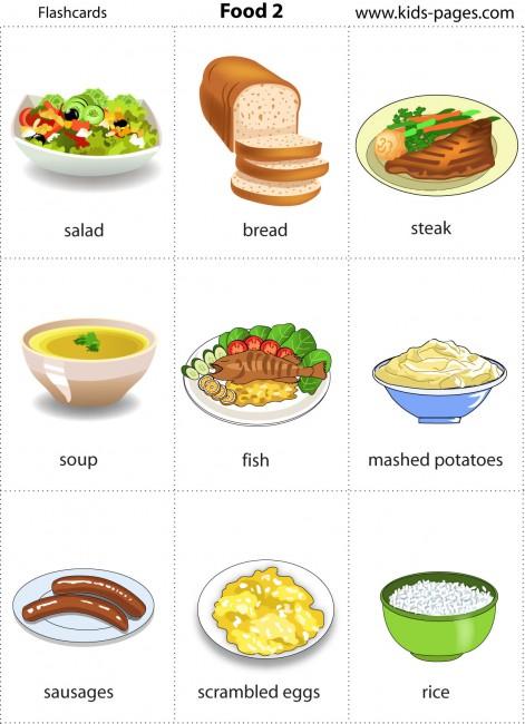 Food 2 Flashcard