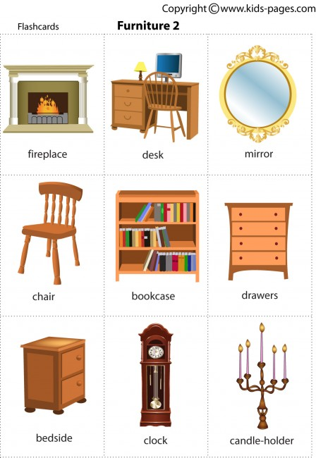 Furniture2 Flashcard