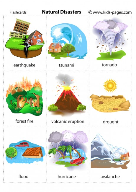 natural disasters flashcard clip art of earthquake kids clipart of earthquake shaking bed
