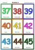 Numbers 5 flashcards