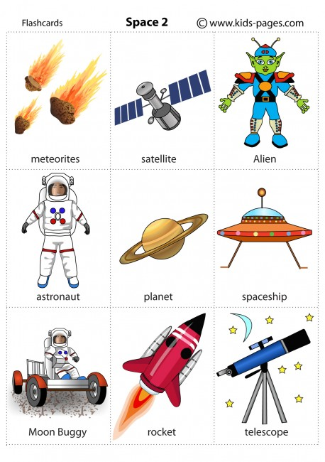 Space 2 flashcard
