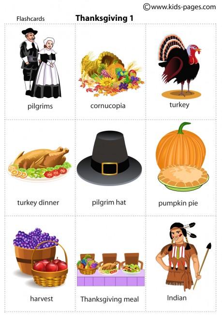 Thanksgiving 1 flashcard