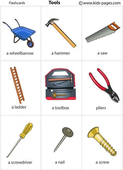 Tools Flashcard