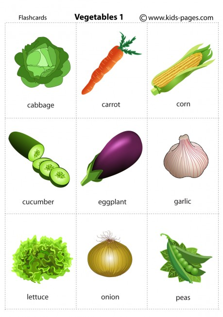 Vegetables Coloring Pages  Free Printable  Easy Peasy