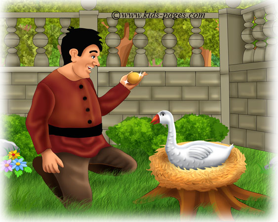 aesop fables 2 the goose with the golden eggs