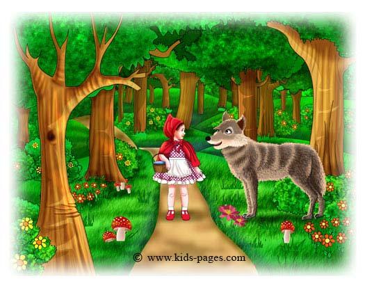 The Little Red Riding Hood - Chandler's Language Arts Portfilo