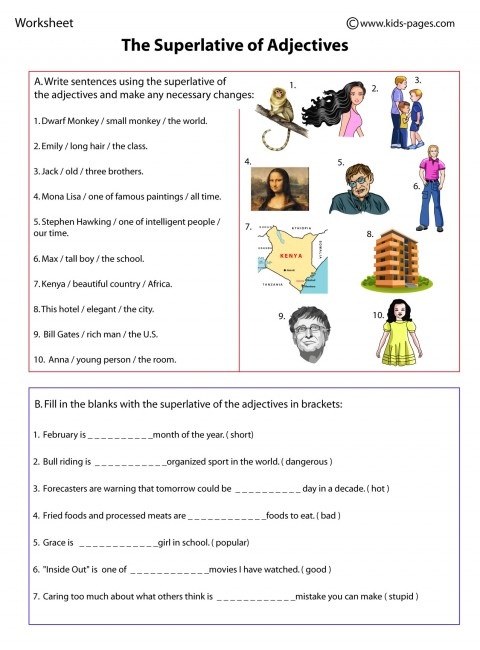 superlatives worksheet adjectives index printable worksheet pdf ...