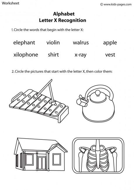 la escuela de ingles de eva alphabet letter x recognition. Black Bedroom Furniture Sets. Home Design Ideas