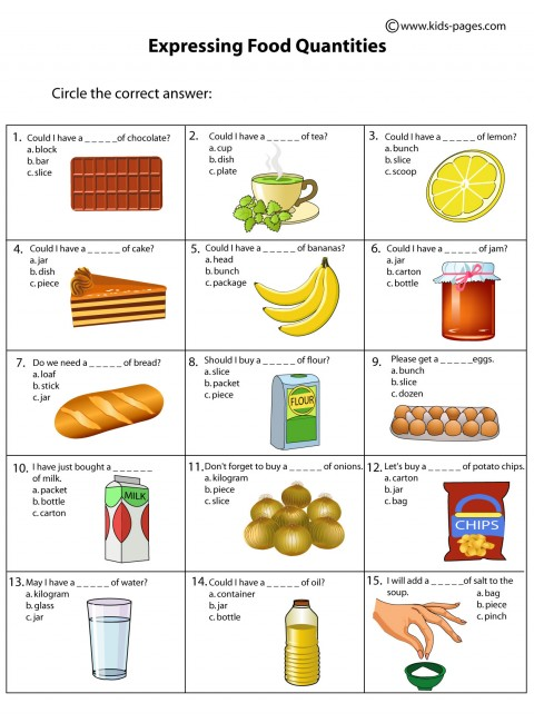 food countable and uncountable nouns english exercises. Black Bedroom Furniture Sets. Home Design Ideas