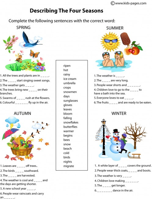 Essay on winter season in simple words