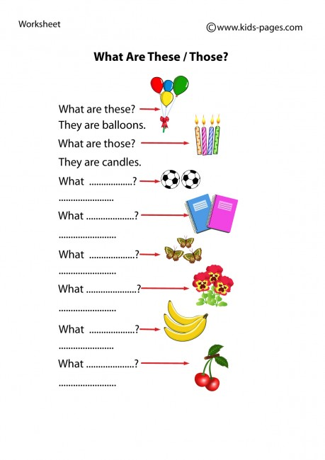 English worksheets: THIS, THAT, THESE, THOSE * 3 EDITABLE PAGES *