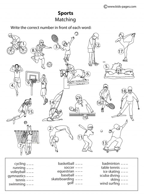 free coloring pages of physical fitness. Black Bedroom Furniture Sets. Home Design Ideas